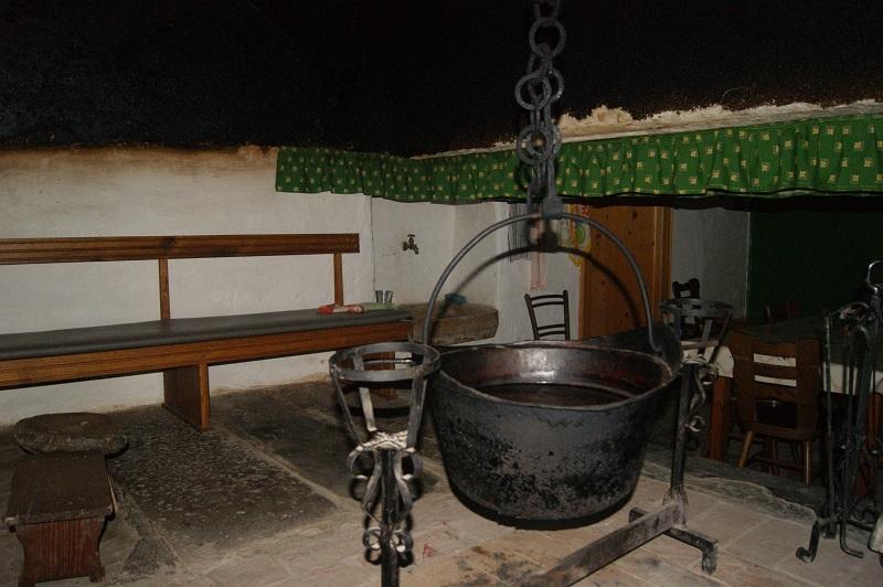 Novakova domačija - Črna kuhinja